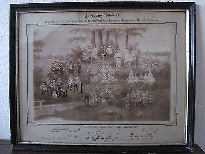 3 Reservistenbilder Hannoversche Dragoner Lüneburg 1895 - 1898 Meckelfeld