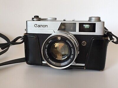 Canon Canonet S - Forerunner Of QL17 With 45mm f1.7 Lens - Fully Working