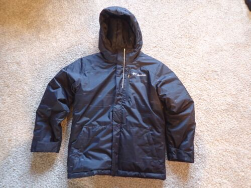 COLUMBIA INSULATED HOODED SKI JACKET in Boy