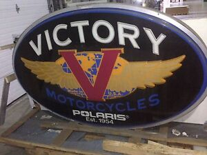 Victory Motorcycle sign
