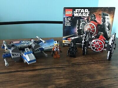 Lego Star Wars Microfighters Tie Fighter & X-wing segunda mano  Embacar hacia Argentina