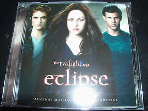Eclipse Twilight Original Motion Picture Soundtrack CD (Aust Bonus Track)