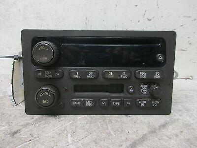 2005 05 Chevy Silverado 1500 UB1 Cassette CD Radio 10359566 OEM LKQ