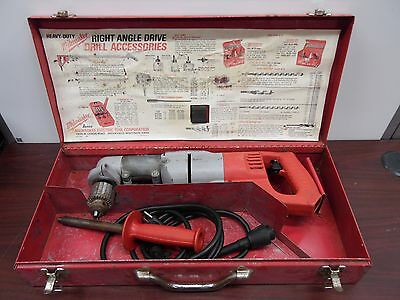 "Milwaukee 1107-1  Heavy-Duty 1/2"" Drill [25D]"