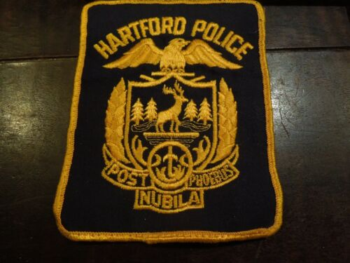 Hartford CT Connecticut Police Uniform Patch