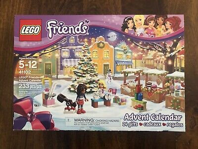 Lego Friends Advent Calendar Brand New Sealed Box Lego Item # 41102
