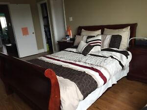 5 PIECE BED SET