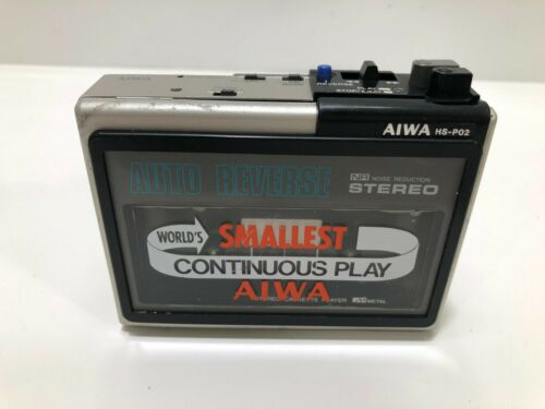 AIWA HS-P02 Stereo Cassette Player  Walkman