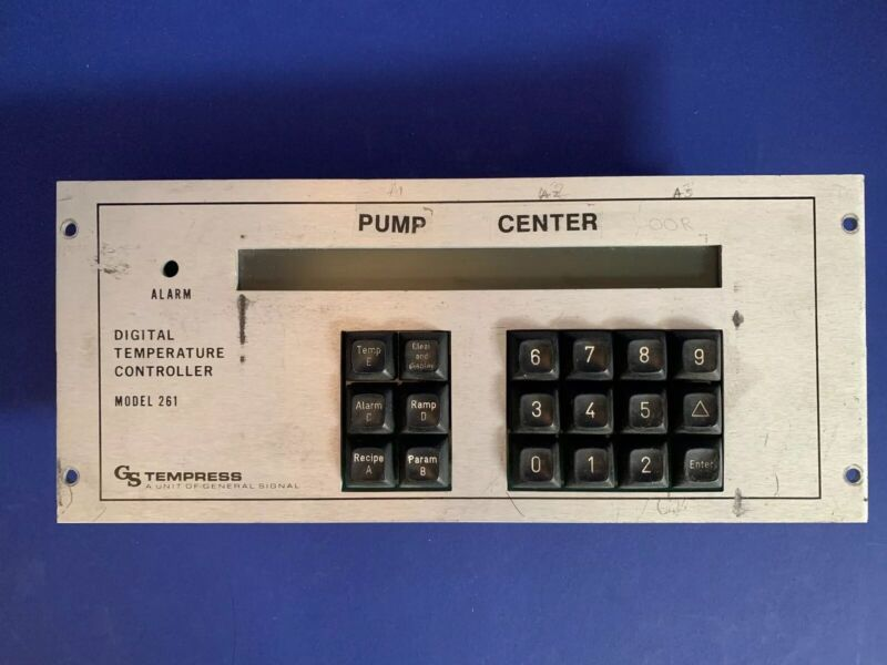 Tempress Model 261 Digital Temperature Controller, Used