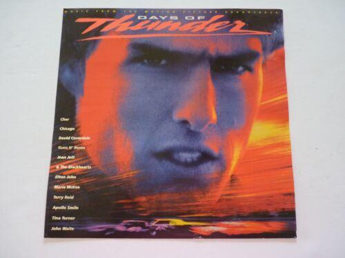 Days of Thunder Cruise Guns Roses Cher Jett LP Record Photo Flat 12X12 Poster