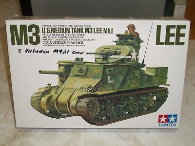 Tamiya 1/35 Scale M3 Lee Tank w//Verlinden Conversiom for sale  New Orleans