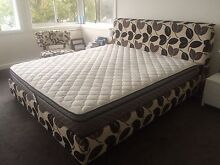 King Bed and Mattress (Domayne) Northbridge Willoughby Area Preview
