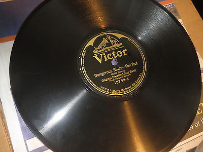 78RPM Victor Original Dixieland Jazz, Dangerous Blues / Royal Garden clean V V+