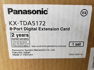 Panasonic Kx-tda5172 8-port Digital Extension Card