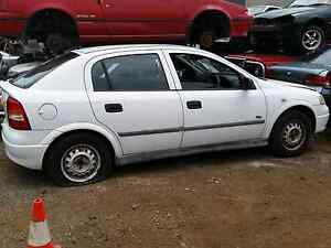Holden ts astra white black x2 2&4 doorwrecking Elizabeth West Playford Area Preview