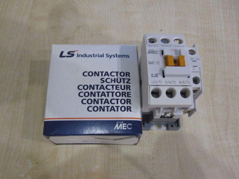 Original LS (MEC, LG) GMC-12 Contactor 5,5kW 12A Coil AC230V