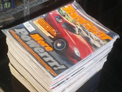 25 x Top Gear magazines $15
