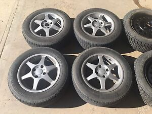 195/65/15 Winter & Summer Tires with Rims