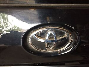 2011 and up Toyota Sienna logo , taillight, spoiler and wiper