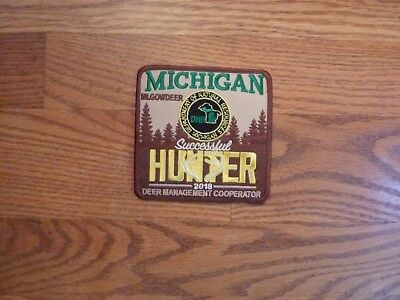 Pins & Patches - Michigan Dnr Successful Deer Hunter Patch