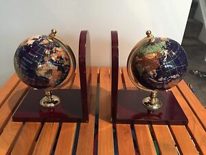 World Globe Bookend