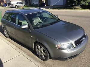 Low KMs Audi A4 Quattro Wagon