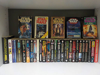 Star Wars (Various Authors) - 31 Books Collection! (ID:46393)