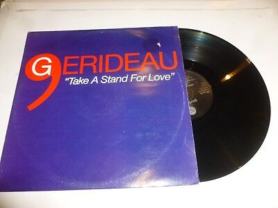 Gerideau   Take A Stand For Love   Original 1994 Uk 4 Track 12  Single