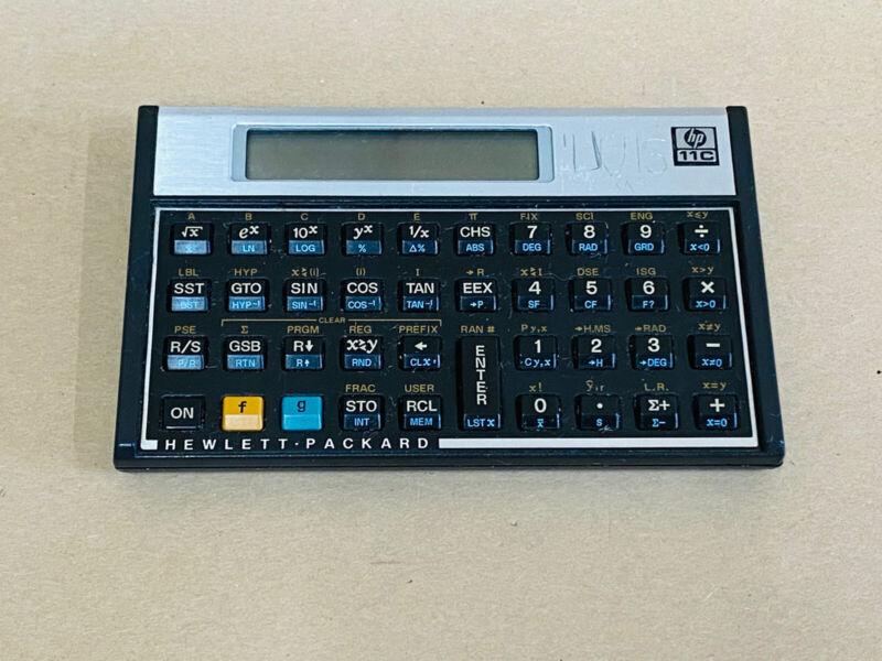 HP-11C Programmable Scientific Calculator - Fast Shipping!!!