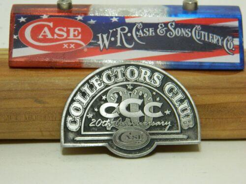 Case Knife CCC 20th Anniversary Medallion