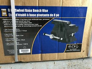 8 inch Powerfist swivel base bench vise