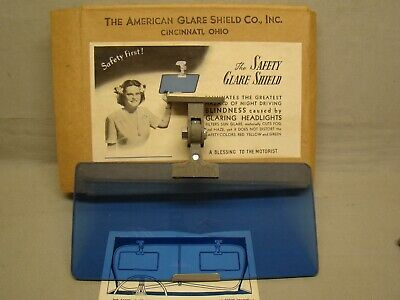 NOS anti glare shield American glare shield company safety glare shield polaroid