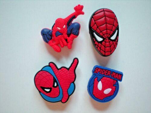 Clog Shoe Charm For Accessories For Bracelet Spiderman Super Hero