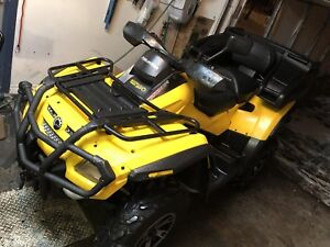 VRAI 2 PLACE * 4900 km CAN-AM OUTLANDER 800 Mags
