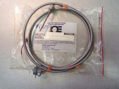 New Omega Bt-090-rtd-3-12-60-1 Cable Assembly Free Shipping