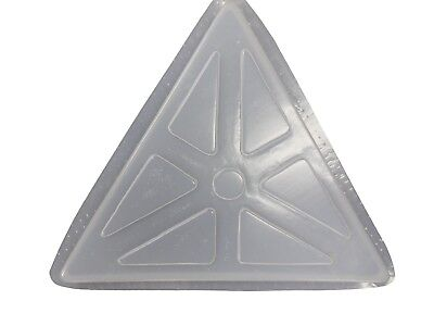Triangle Patio Cement Concrete Plaster Stepping Stone Mold 2021 (Mold Concrete Cement Plaster)