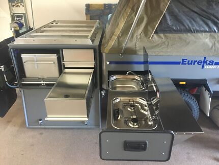 WA MADE! Eureka Hard Floor Offroad Camper Trailer - series 1 & 2