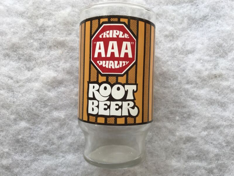 Triple AAA Vintage Root Beer Glass