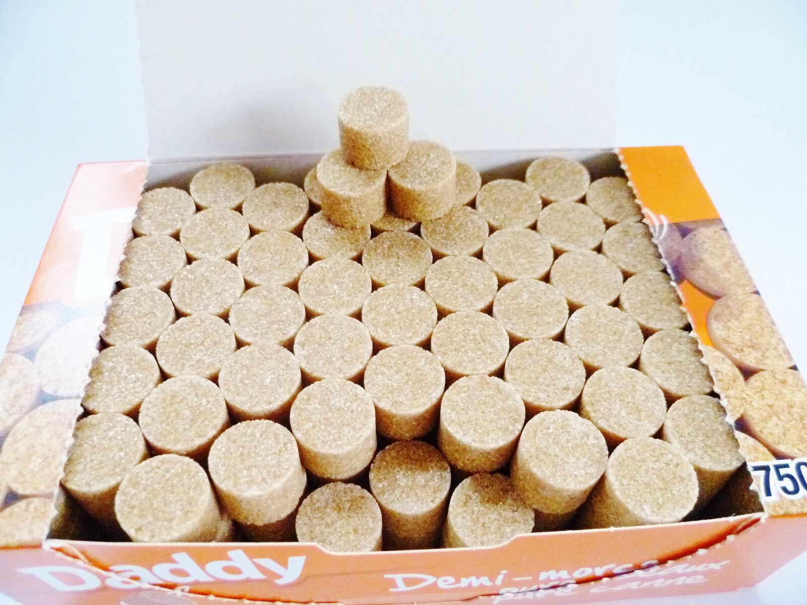 Zucker Daddy Rohrzucker Würfelzucker 750g Packung rund nur 3g je Zuckerstückchen