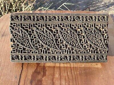 Antique Heavy McDonald/'s Swiss Finish Metal Plate in Wood Block Stamp