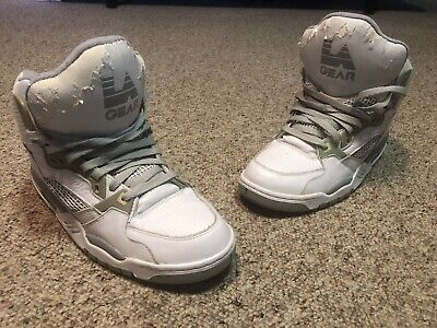 LA Gear Style# A1825AM-2 Vintage 90's High Top Big Tongue Size 11.5 Used