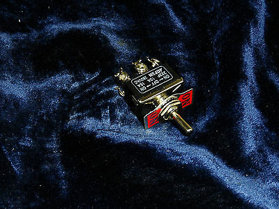 Momentary On - Off - On Dpdt Toggle Switch 15a 250 Volts