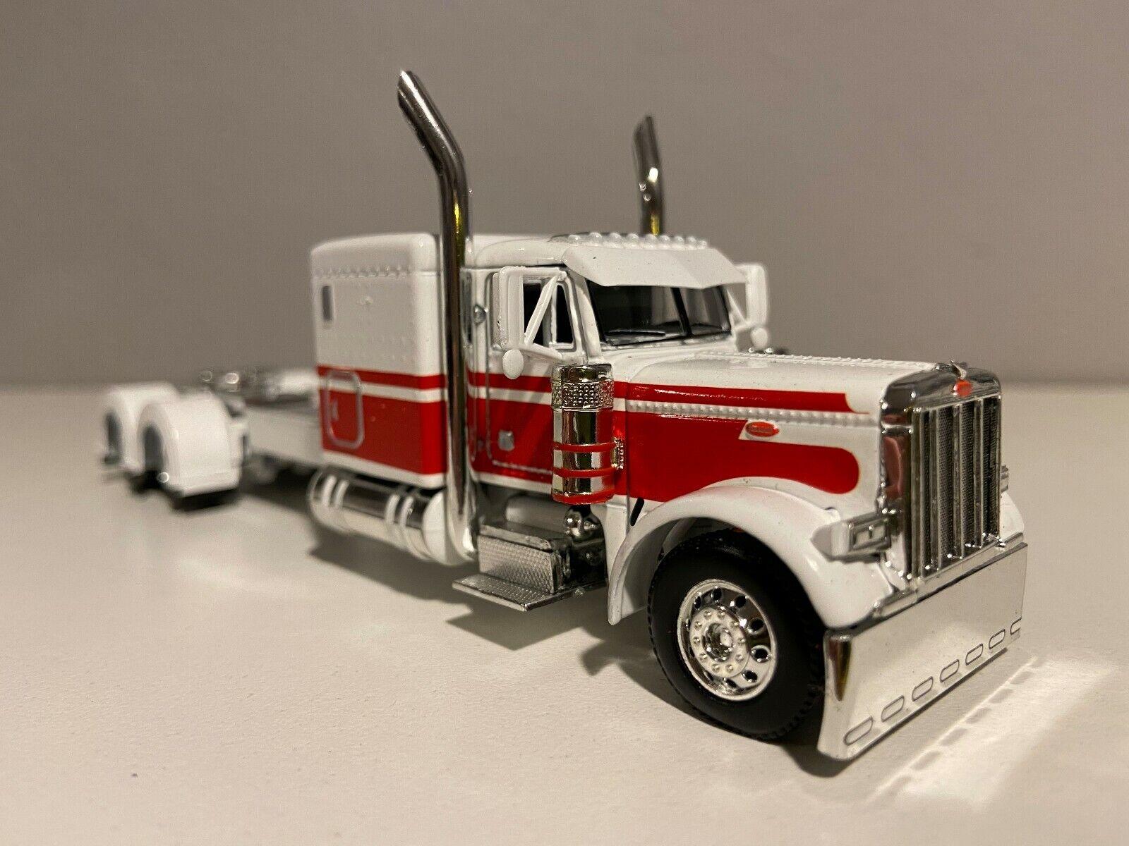 "NEW DCP WHITE &RED PETERBILT 379 60"" BUNK 320"" FRAME (6 12"" long)"