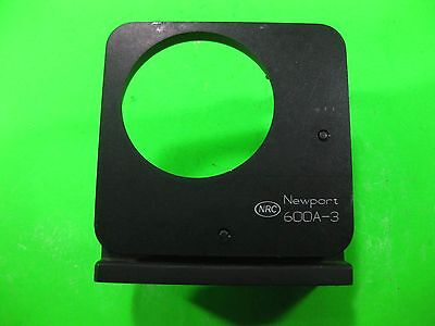 Newport Nrc Optical Mount With 2 Micrometer 3 -- 600a-3 -- Used