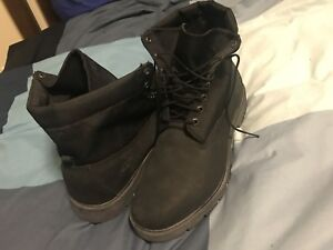 Timberland black boot for man size14.5