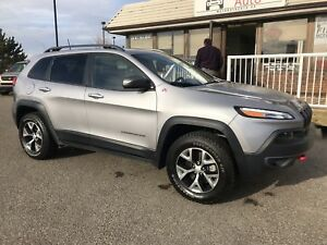 2018 Jeep Cherokee Trailhawk PANO SUNROOF, LEATHER