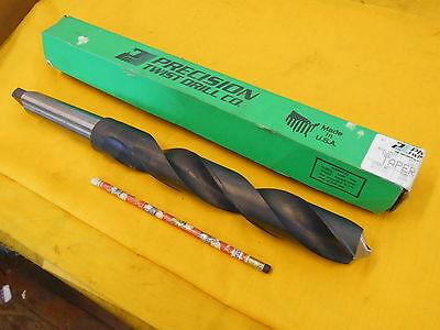 """NEW STRAIGHT SHANK DRILL 21MM x 5 1//2/"""" lathe mill screw machine tool PTD USA TIN"""