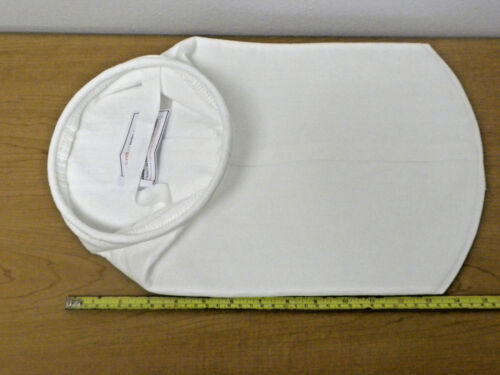 Polyester Felt Filter Bag / Sock 25 Micron Size 1 Sunmicron PESG-025-WS-SS1