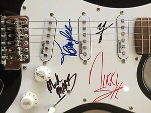 Motley Crue - signed guitar Fremantle Fremantle Area Preview