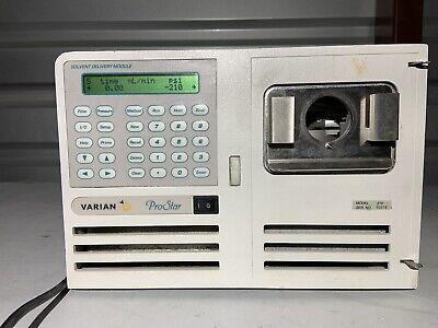 Varian Prostar 210 Solvent Delivery Module